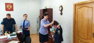 Кадетский класс награждение учеников